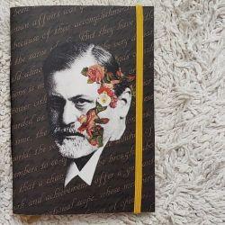 Estilo Moleskine A Face de Freud