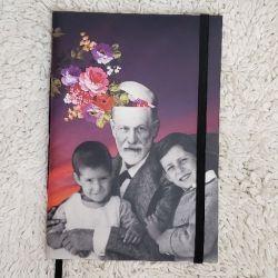 Estilo Moleskine Freud e suas Riquezas