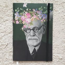Estilo Moleskine As Flores de Freud