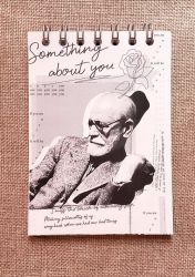 Bloco de Anotações Freud em P&B