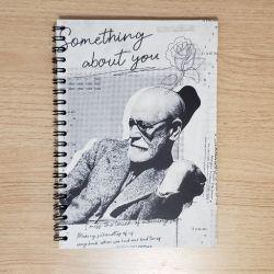 Caderno Universitário Freud em P&B