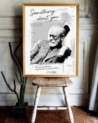 Pôster Freud em P&B