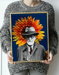 Pôster Freud e o Girassol