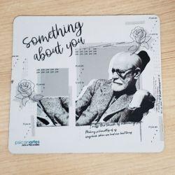 Mouse Pad Freud em P&B