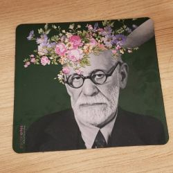 Mouse Pad As Flores de Freud