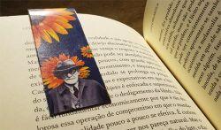 Marcador Imantado de livro Freud e o Girassol