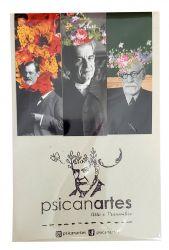 Marcador Imantado de livro A Face de Freud