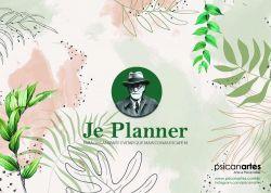 Je Planner Mensal Elizabeth von R