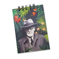 Bloco de Anotações Freud Florest
