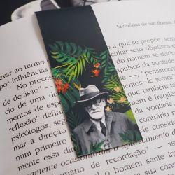 Marcador Imantado de livro Freud Florest
