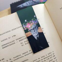 Marcador Imantado de livro As Flores de Freud
