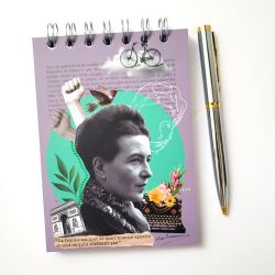 Bloco de Anotações Simone de Beauvoir