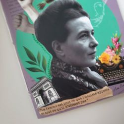 Caderneta Simone de Beauvoir
