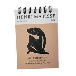 Bloco de Anotações Matisse - Nu azul II