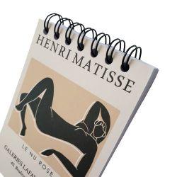 Bloco de Anotações Matisse - Nu rosa