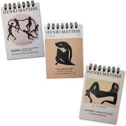 Trio Bloco de Anotações Matisse