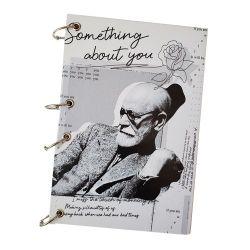 Caderno Argolado Freud em P&B