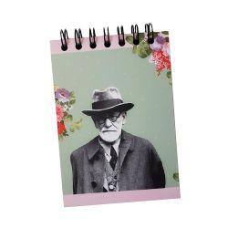 Bloco de Anotações Nos jardins com Freud