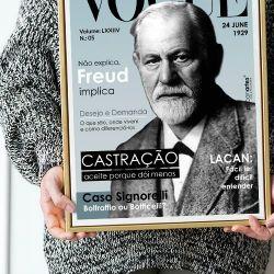 Pôster Vogue Freud