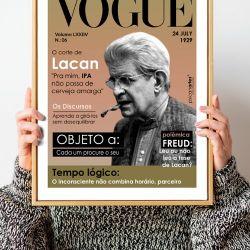 Pôster Vogue Lacan