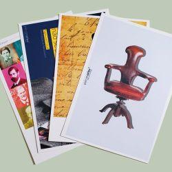 Cartões postais O quarteto