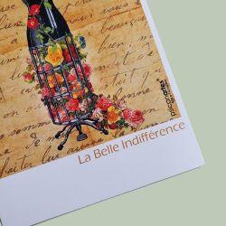 Cartão postal Bela indiferença