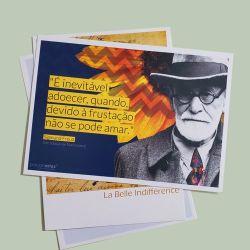 Cartão postal Freud Girassol